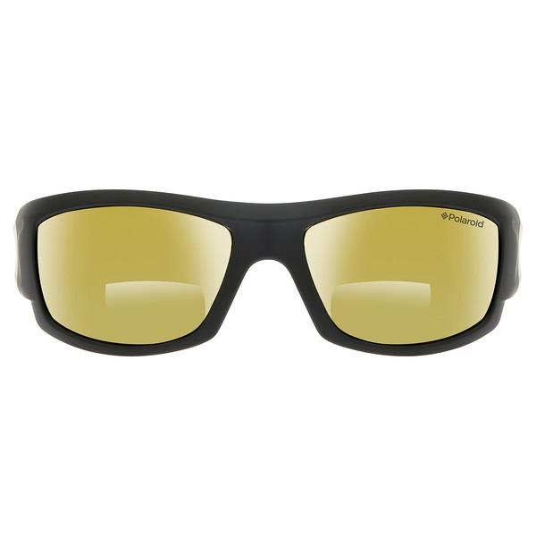 Gafas de sol hombre cal.63 plástico - negro