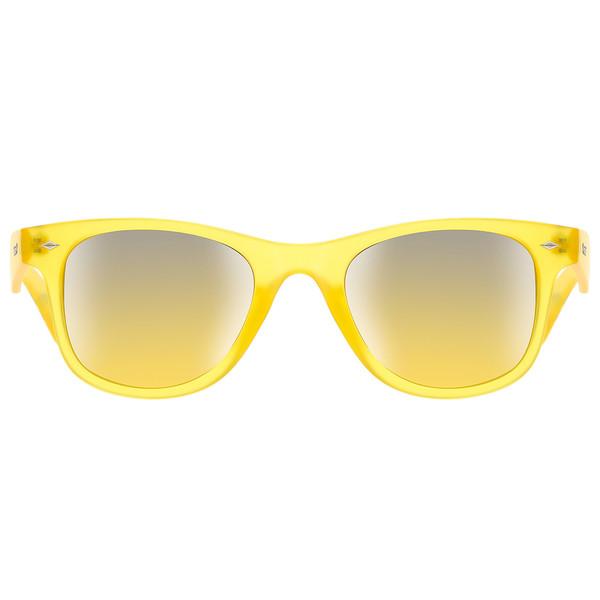 Gafas de sol unisex cal.50 plástico - amarillo