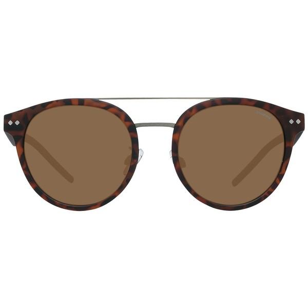 Gafas de sol metal/plástico unisex - marrón