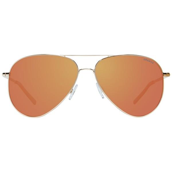 Gafas de sol metal unisex - dorado