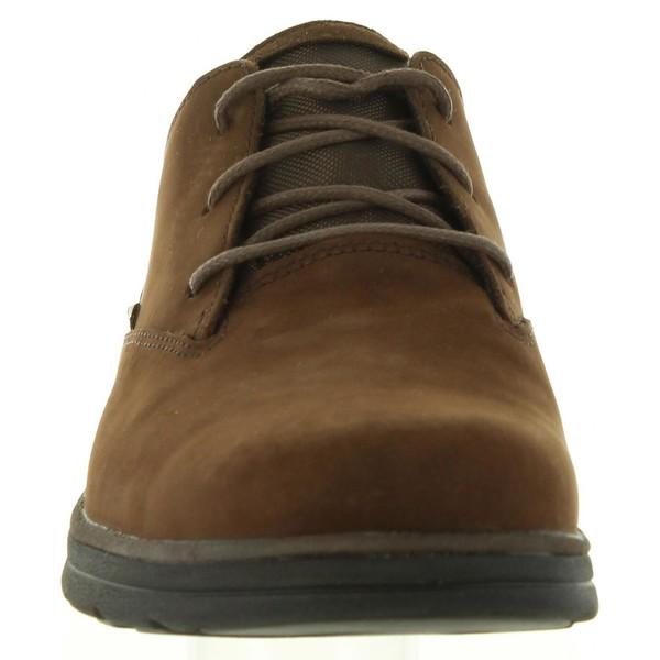 Zapato hombre piel marrón