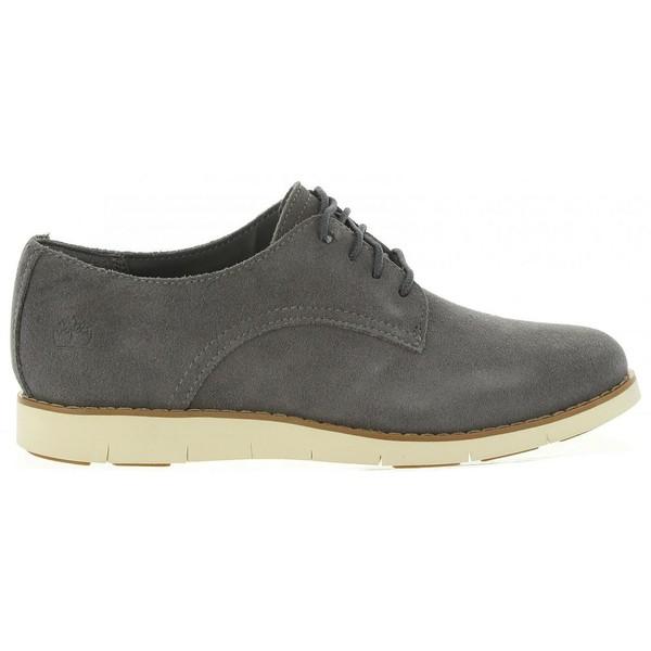 Zapato piel mujer - gris