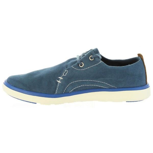 Zapato piel infantil - azul