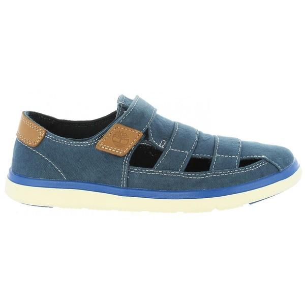 Sandalia junior - azul