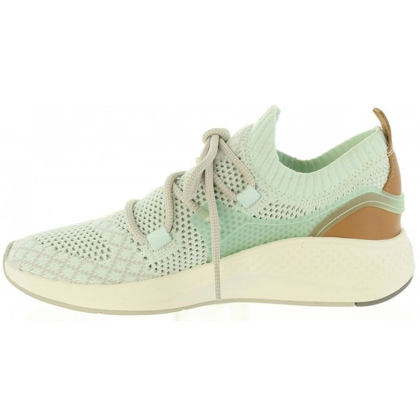 Sneaker mujer piel - verde