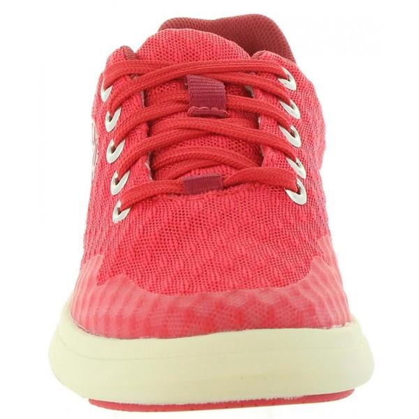 Zapatilla piel infantil - rojo