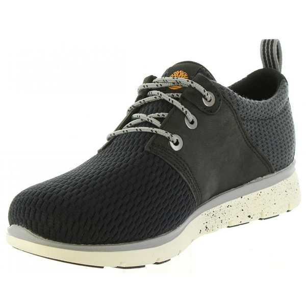 Sneaker piel junior - negro