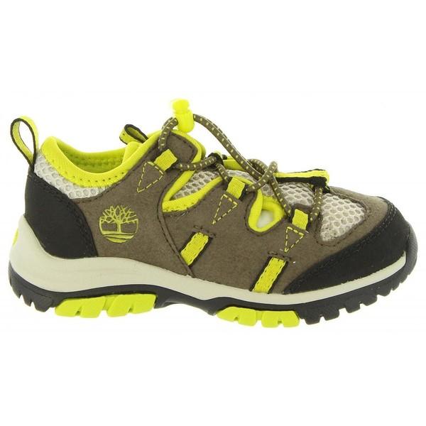 Sneaker piel junior - oliva