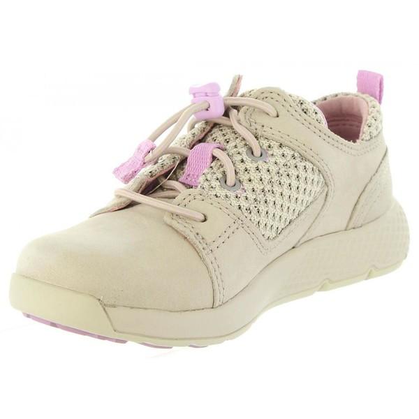 Sneaker piel infantil - taupe