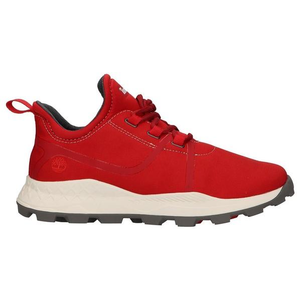 Zapatilla deporte hombre - rojo