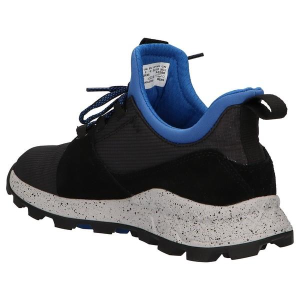 Sneaker piel hombre - negro