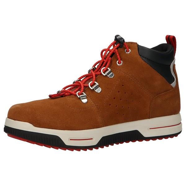 Sneaker piel mujer - marrón
