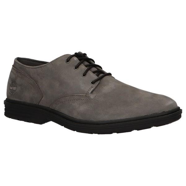 Zapato piel hombre - gris