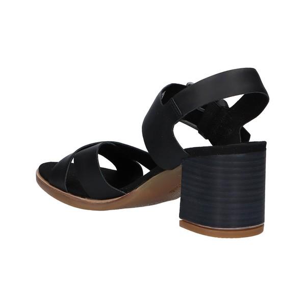 Zapato tacón piel mujer - negro